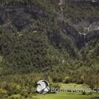 Organya landscape - Serra de Prada - waterfall
