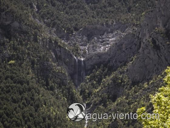 Organya landscape - Serra de Prada - waterfalls