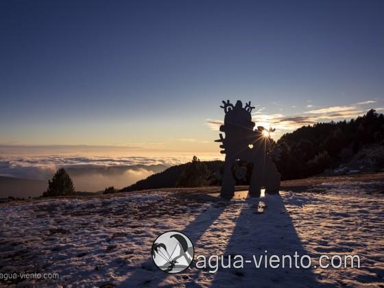 Bergueda, Rasos de Peguera con nieve