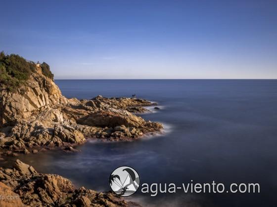 Costa Brava - Lloret de Mar - Cala Banys - coast photo