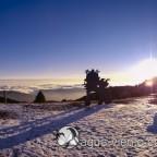 Bergueda, Rasos de Peguera en invierno - panorama