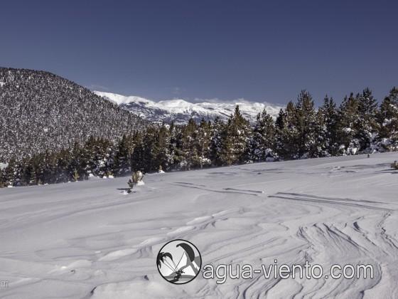 Katalonien Landschaft - Bergueda / Rasos de Peguerea (Winter)