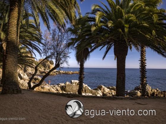 Costa Brava - Lloret de Mar - Cala Banys beach