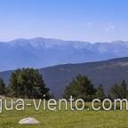 GR 11, Refugi Malniu view to Serra de Cadí