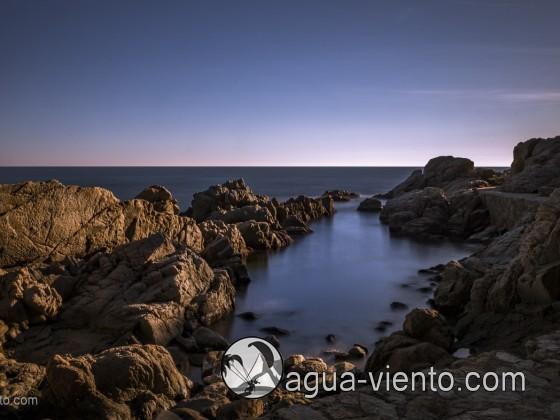 Costa Brava - Lloret de Mar - Cala Banys - Bilder von Küste