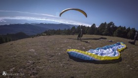 photo from Rasos de Peguera a startplace for paraglider in Berga in region Bergueda in Catalonia