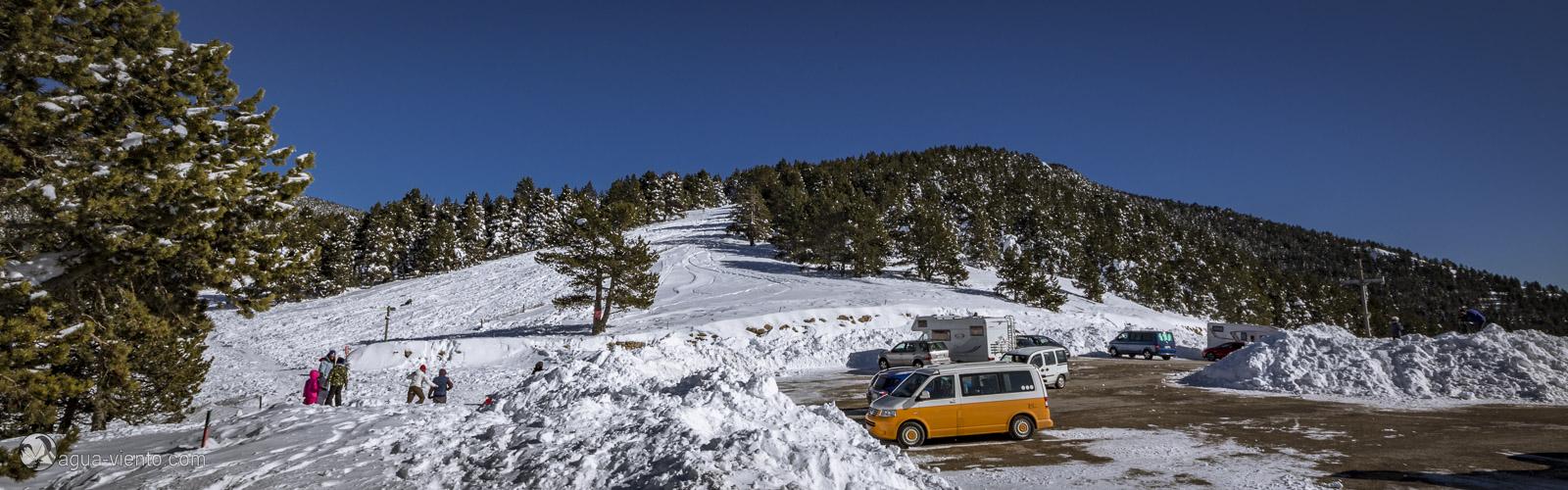 foto from Rasos de Peguera - Ski area in Bergueda in Catalonia